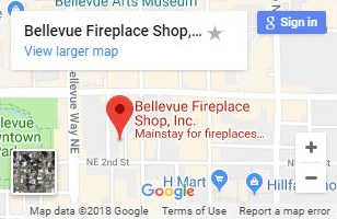 Bellevue Fireplace Shop on Google Maps