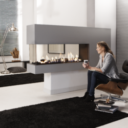 Element 4 Fireplace Gas Lucius 140 RD