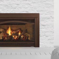 Heat & Glo Fireplace Inserts Grand I35 Arcadia New Bronze Refractory Upgrade