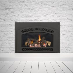 Heat & Glo Fireplace Inserts Supreme I30 Chateau Black