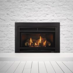 Heat & Glo Fireplace Inserts Supreme I30 Halston Black
