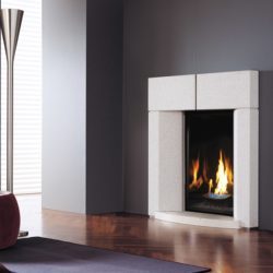Marquis Gas Fireplaces Cove Glass Blue