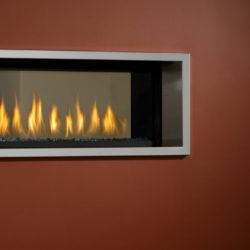 Marquis Gas Fireplaces Infinite Thin SS Surround
