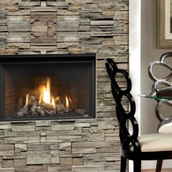Marquis Gas Fireplaces Solara Oak Log Brick