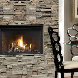 Marquis Gas Fireplaces Solara Oak Log Brick