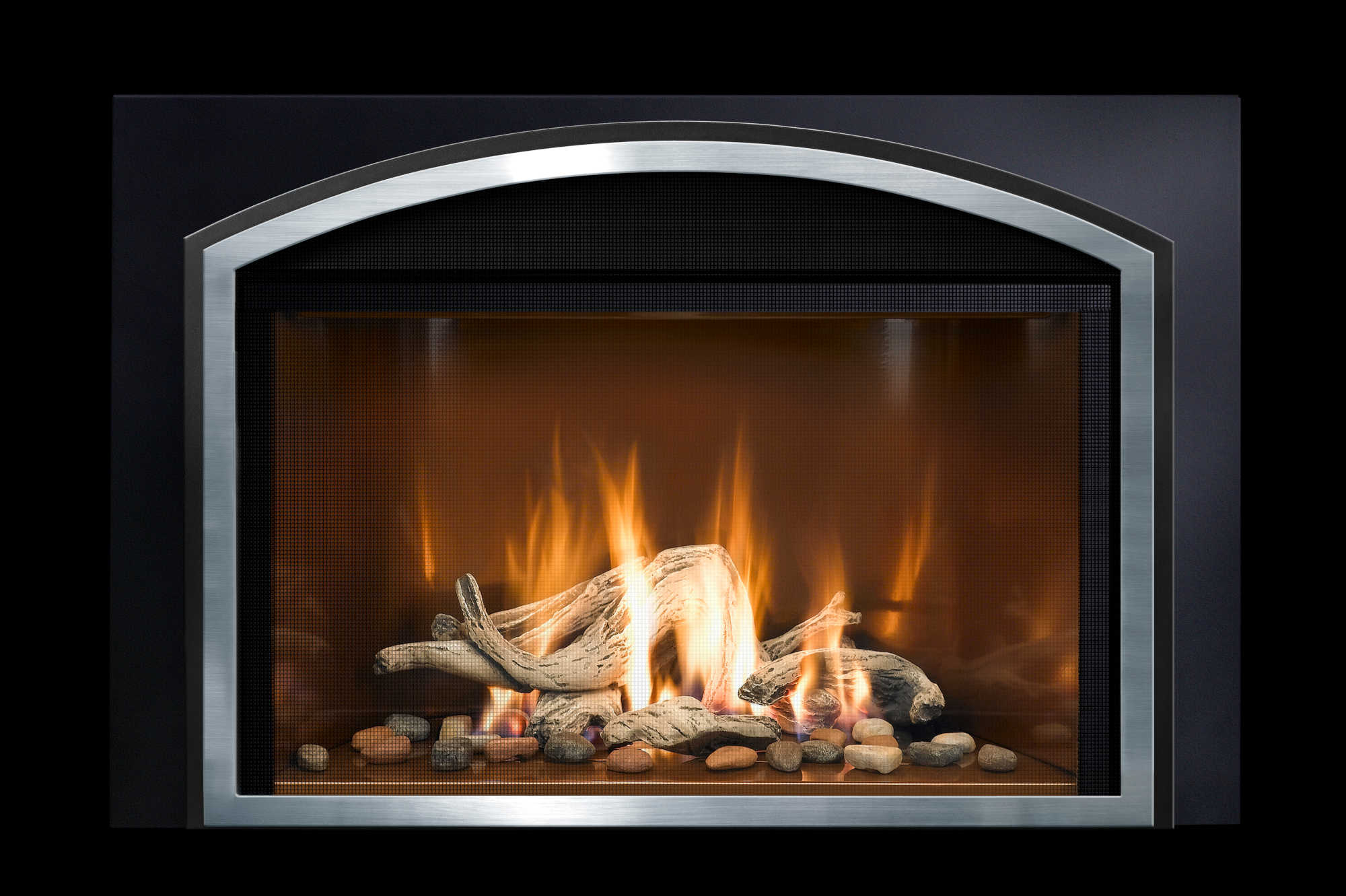 Mendota Fireplace Inserts Fv33i Decor Grace Arch Black Charm