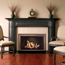 Mendota Fireplace Inserts FV33i Decor Wide