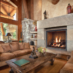 Mendota Gas Fireplace FV46 Traditions