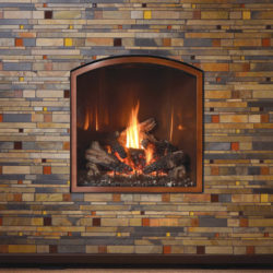 Mendota Gas Fireplaces ARCHED FV41