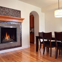 Mendota Gas Fireplaces FV41 Decor Lyr Grace