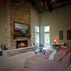 Mendota Gas Fireplaces FV42 White Oak
