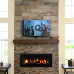 Mendota Gas Fireplaces ML47 Decor Wide Grace