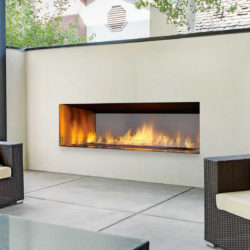 Regency Outdoor Gas Fireplace HZO60-B