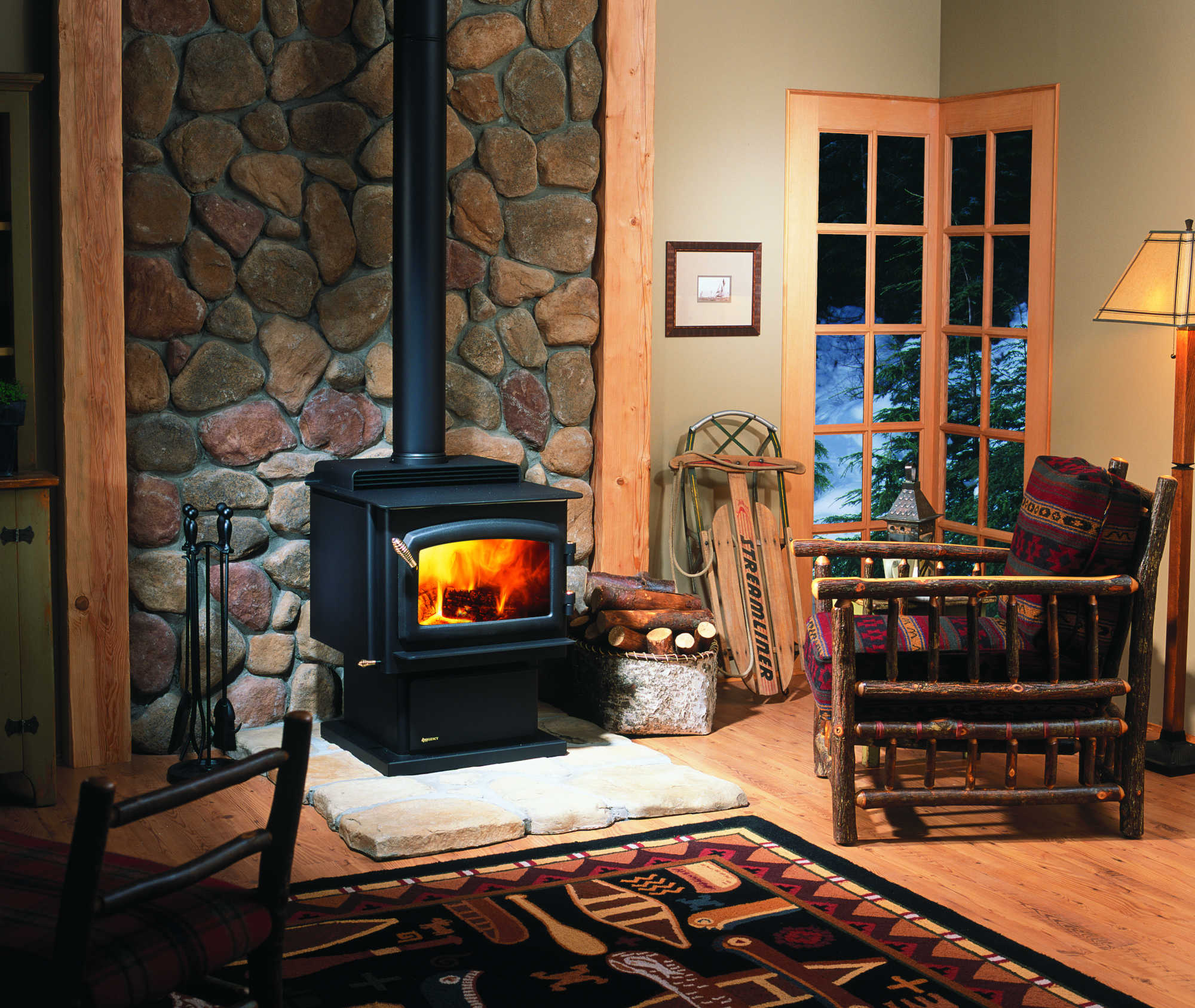 Wood Inserts Fireplaces Amp Stoves Bellevue Fireplace Shop
