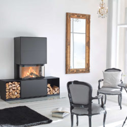 Wood Fireplaces Ri50-1